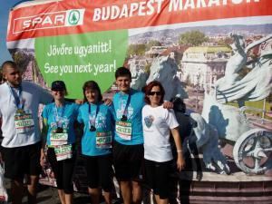 A BSC futói a hétvégén részt vettek a 32.  Spar Budapest  Maraton fesztiválon